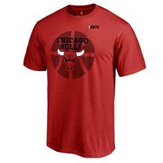 NBA Chicago Bulls 2016 NBA Draft T-Shirt - Red
