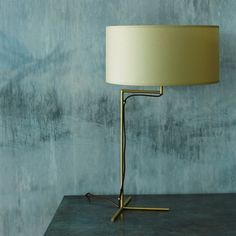 victor brass cross desk lamp from graham and green