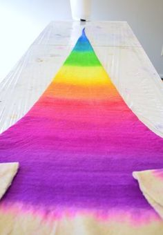 If you are interested in learning a little more about how I make my rainbow wizard / witch hats (and for a few more process photos) check out my blog post.