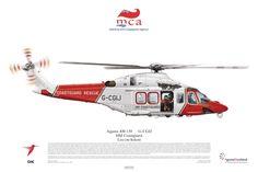 Agusta AW-139, HM Coastguard, Lee-on-Solent