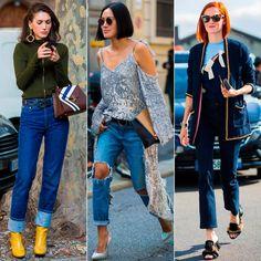 Diletta Bonaiuti, Tiffany Hsu и Taylor Tomasi Hill демонстрируют джинсовые тренды во время недель моды в Лондоне, Милане и Париже. Приходите к нам в JiST поэкспериментировать, примерить новинки сезона. Ул.Саксаганского 65. #fashionable #fall #outfitidea: #stylish #jeans #trends during #fashion #week in #Milan, #London & #Paris #мода #стиль #тренды #джинсы #неделямоды #модно #стильно #осень
