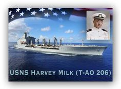 """Hope Will Never Be Silent""~ Harvey Milk Harvey Milk Ship Naming Ceremony To Take Place Next Week Navy Secretary Ray Mabus and House Democratic Leader Nancy Pelosi are among the dignita…"