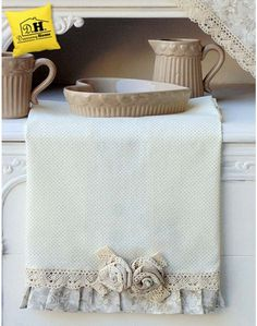 Canovaccio Angelica Home & Country Collezione Lady Rose Pois