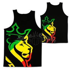 Jamaican Pride Coat of Arms Out of Many One People Kingston Boy Beater Tank Top