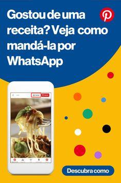 Envie Pins e pastas por WhatsApp e compartilhe suas inspirações Pinterest For Business, Survival Guide, Tupperware, Social Networks, Instagram Feed, Digital Marketing, Diy And Crafts, Life Hacks, How To Make Money