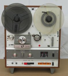 Reel to Reel Tape Recorder (Early AKAI, Crossfield licensed by Tandberg) - www.remix-numerisation.fr - Transfert Numérisation restauration audio