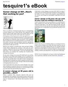 best careers at 50 Best Careers, Career Change, 50 Years Old, Home Based Business, Free Website, Internet Marketing, Education, Link, Online Marketing