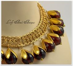 Vintage Egyptian Revival Style Amber Lucite Drop Collar Necklace--Must Have! Jewelry Design Earrings, Red Jewelry, Indian Jewelry, Bridal Jewelry, Jewelry Art, Antique Jewelry, Beaded Jewelry, Jewelery, Vintage Jewelry