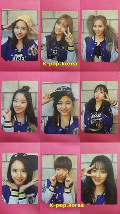 LOT of 2 TWICE DAHYUN Official PHOTOCARD 2nd Album PAGE TWO Photo Card 다현