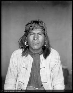 Boo Ling U Wha, Hopi (Moqui) man, Walpi, Arizona