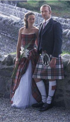 Red Robert Burns Tartan dos nu gilet écossais accessoire robe fantaisie