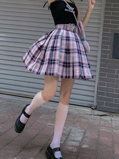 Pastel Goth Outfits, Pastel Goth Fashion, Edgy Outfits, Cute Casual Outfits, Kawaii Fashion, Pretty Outfits, Girl Outfits, Pastel Outfit, Egirl Fashion
