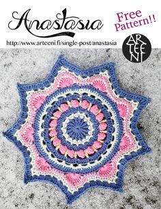 Anastasia, free mandala pattern!