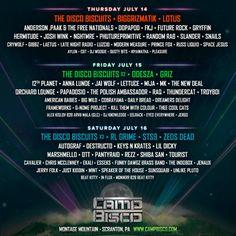 GoRockfest.Com: Camp Bisco 2016 Lineup & Tickets Info