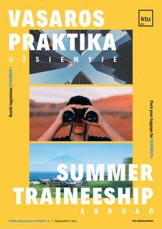 Erasmus summer internship poster How To Apply, Summer, Movies, Movie Posters, Summer Time, Films, Film Poster, Cinema, Movie