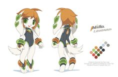 """Milla Basset from Freedom PlanetThis is the 3rd concept art collection I have been working with Stephen DiDuro supertumblario . I unfairly prepared more costumes and expressions for Milla than the other girls, beacause – """"Murder cubes, son!""""Other girls:Sash LilacCarol TeaOriginal character design by Ziyo Ling ziyoling.Concept art and additional design by Tyson Tan (me, twitter).Freedom Planet © GalaxyTrail."""