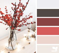 Bedroom Colors Paint Red Design Seeds Ideas For 2019 Red Color Schemes, Red Colour Palette, Hue Color, Bedroom Color Schemes, Bedroom Colors, Bedroom Ideas, Color Combinations, Design Seeds, Color Balance