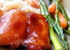 Κοτόπουλο τεριγιάκι με μέλι