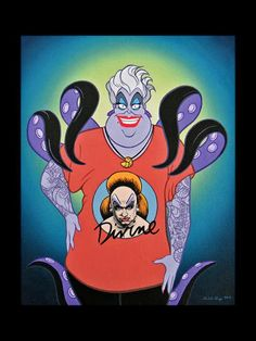 Disney's Ursula character was inspired by Divine!