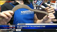 The Container Store's Grand Opening in Orlando is this weekend 4/27 & 4/28!   Check out the preview by FOX 35 News Orlando