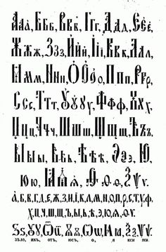Different Styles Of Writing Alphabets