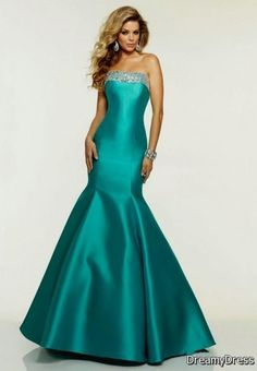 Awesome teal mermaid prom dress 2017-2018 Check more at http://fashionmyshop.com/review/teal-mermaid-prom-dress-2017-2018/