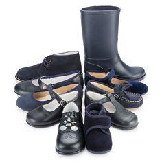 Zapatos negros de Pisamonas.