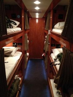 This a photo from Steven Curtis Chapman's fb page of the inside of his touring bus... This is what the bed area should look like on a camper. How cool?