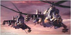 army Mi-24 Super Hind MK III