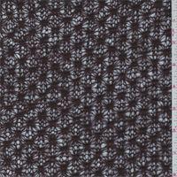 Walnut Brown Lattice Wool Blend Sweater Knit