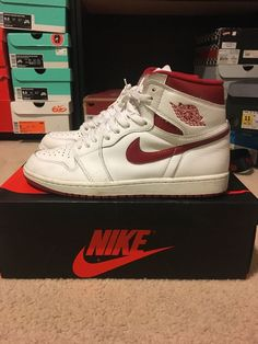 f18564fc6deac8 air jordan 1 retro high og metallic red  fashion  clothing  shoes   accessories  mensshoes  athleticshoes (ebay link)
