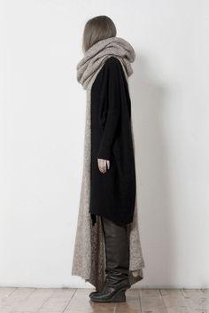 autumn/winter style inspiration by Uma Wang Fall 2012