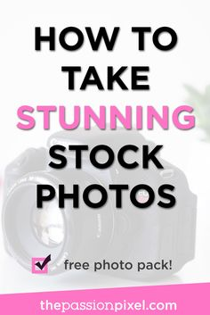 Learn how to take amazing stock photos for your blog now! No need to keep using the same old stock photography that everyone else has, or pay  a monthly fee. Learn how to DIY your blog photography with this helpful post.
