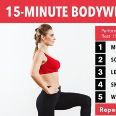 For this indoor bodyweight HIIT workout, we put together some of our favorite moves. Challenging and effective! For visible results in no time!