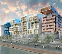 Fancy - massimiliano + doriana fuksas: lyon confluence housing