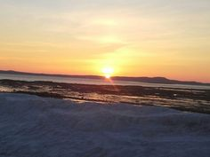 Sunsrise in St Andrews NB Canada