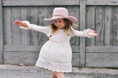 Cleo Fedora: Free Crochet Sun Hat Pattern for Kids » Make & Do Crew Crochet Kids Hats, Crochet Fall, Crochet Bear, Free Crochet, Make And Do Crew, Crochet Vest Pattern, Modern Crochet Patterns, Crochet Accessories, Sun Hats