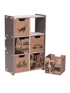 Sprout-Kids Sprout 6 Cubby Shelf