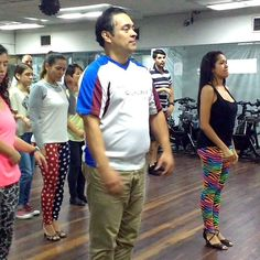 Practicando para bailar está noche al ritmo de la @septimabohemia en VIVO #3/12 #BailaParaDivertirte CIBO de La Castellana