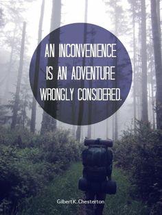 G. K. Chesterton Makes me think of Bilbo's journey