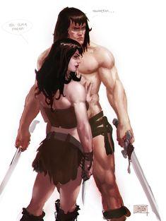 #Conan -Belit by Memed.deviantart.com on @deviantART