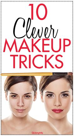 10 Clever Makeup Tricks You Need to Try.