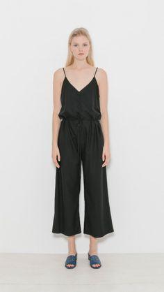 ee79733bbb8f Ozma Cypress Playsuit in Black