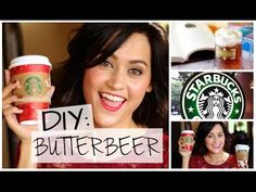DIY Starbucks Butterbeer | Harry Potter Inspired Holiday Drink