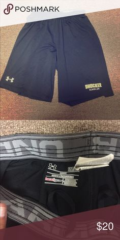 NWOT Shocker basketball shorts Brand new never worn. Wichita State Shockers Under Armour Shorts Athletic