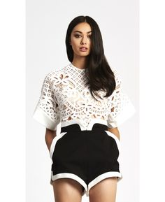 Wave top white alice mccall