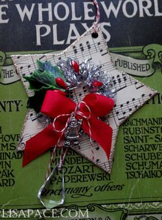 Lisa Pace ~Holiday Star Ornament ~ So cute!!!