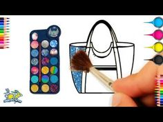 Drawing For Kids: Bag Drawing And Coloring for Kid's learning Colour Drawing, Drawing Bag, Painting & Drawing, Online Drawing, Drawing Websites, Drawing For Kids, Drawing Ideas, Drawings Of Friends, Colorful Drawings