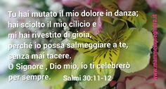 Salmo 30:11-12