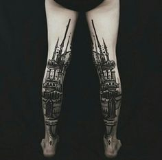 By Houston Patton.  Tattoo artist